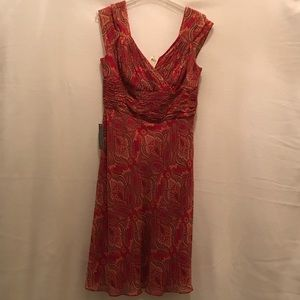NWT Ann Taylor 100% silk, lined dress (sz10)